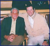 Rodolfo Betti con Egidio Capalbo