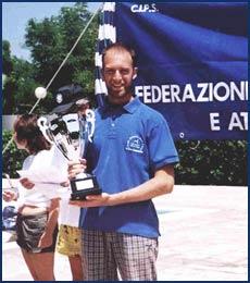 Erik Merson, la promessa del  Circolo Sommozzatori Trieste