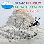 """TORNA LA""""PULIZIA DEI FONDALI – PASSETTO 2020"""" Rinviato all'anno prossimo il """"Miglio del Passetto"""""""