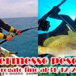 Permesso per la pesca in mare prorogato fino a fine 2015