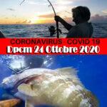 Nuovo DPCM 24/10 Covid-19: Si Può Andare a Pescare? Facciamo Chiarezza