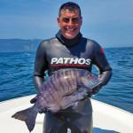 Record Pescasub: un Sarago Pizzuto di 7,6 kg Catturato in Spagna