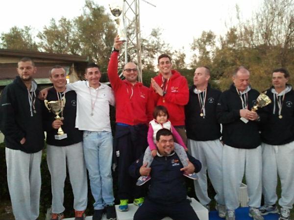 Il podio del campionato regionale toscano per società 2015