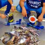 Pescasub di Notte nel Porto, 2 Fermati e 8.000 euro di Multa