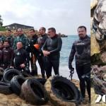 Fondali puliti: i Pescasub raccolgono un mare di Rifiuti in AMP