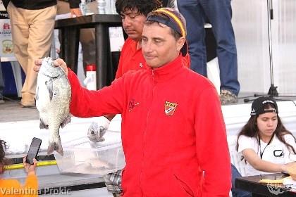 Santi Lopez retrocesso dal primo al terzo posto (foto V. Prokic)