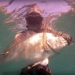 Video Pescasub con gli Agonisti: Nicola Smeraldi e l'Oratona nella Risacca