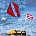La Striscia Bianca sulla Bandiera della Boa Sub ha un Verso da Rispettare?