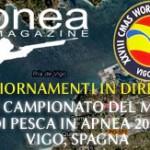 Mondiale di pesca subacquea 2012 – Vigo, Spagna