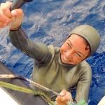 Ustica: la Zecchini tenta il Record mondiale in Assetto Costante con Monopinna