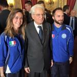 I Campioni FIPSAS premiati dal Presidente della Repubblica al Quirinale